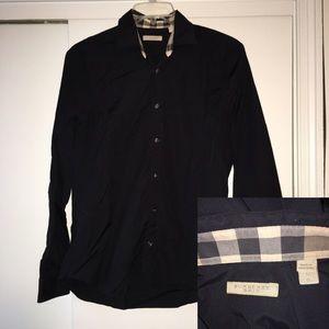 Burberry Brit Long Sleeve Shirt- Size Large